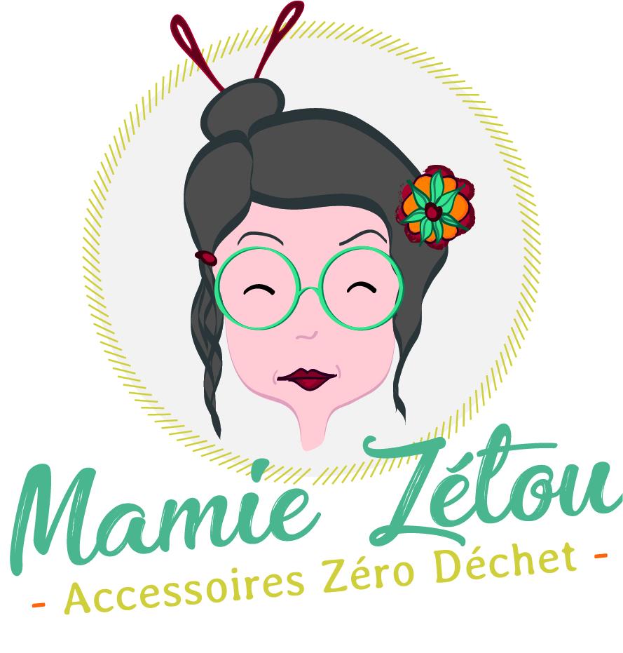 Création logo Mamie Zétou
